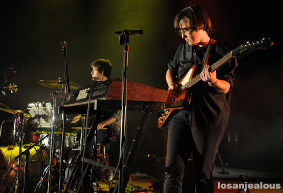 Photos: Lower Dens @ Greek Theatre, October 10, 2012