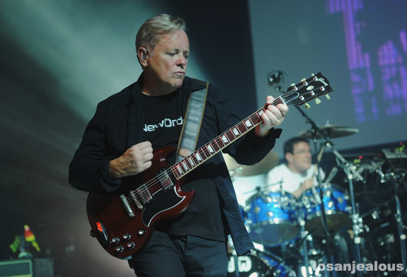 Photos: New Order @ Greek Theatre, October 7, 2012