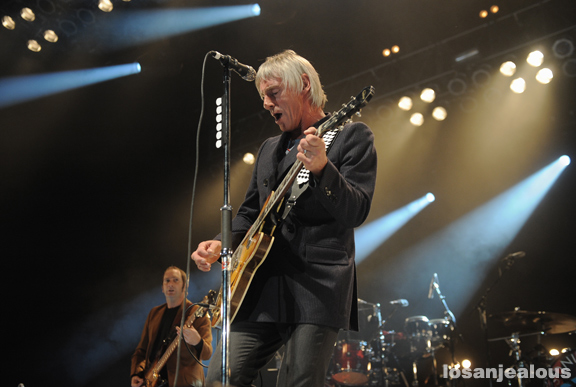 Photos: Paul Weller @ Greek Theatre, October 19, 2012