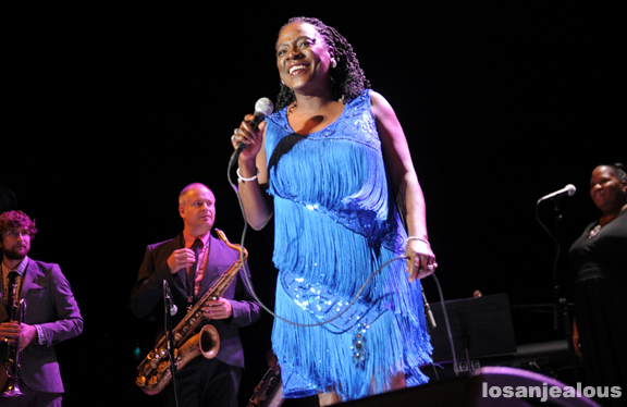 Photos: Sharon Jones & The Dap Kings @ Greek Theatre, October 19, 2012