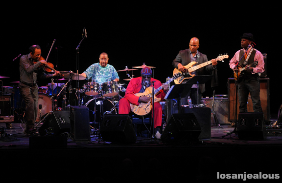 "Photos: James ""Blood"" Ulmer's Memphis Blood @ UCLA Royce Hall, December 7, 2012"