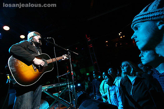 Badly Drawn Boy @ Troubadour, 10/18/06
