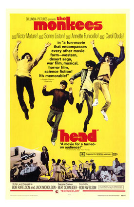 Head: Monkees Movie Comes Home Again