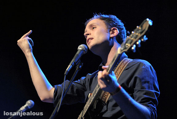 Jens Lekman at the Henry Fonda Theater on March 21, 2008