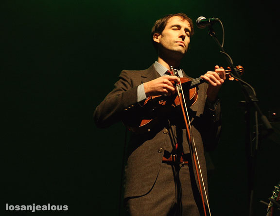 Andrew Bird at the Orpheum Theater on December 7, 2007