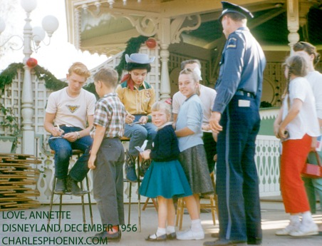 Charles Phoenix's Slide of the Week: Love Annette, Disneyland, Dec 1955