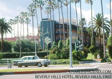 Charles Phoenix's Slide of the Week: Beverly Hills Hotel, 1967