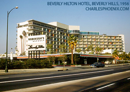 Charles Phoenix's Slide of the Week: Beverly Hills Hotel, 1956