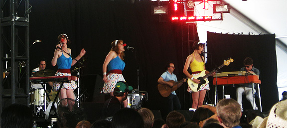 Threat of Being Dick-Slapped By Inara George Awakens Early Saturday Coachella Crowd, Proper