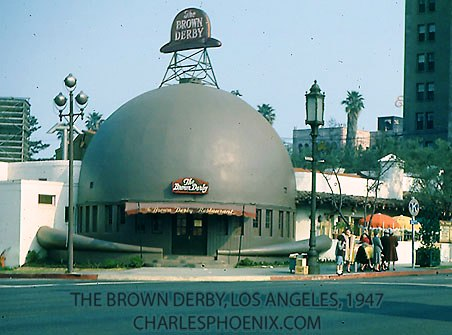 Charles Phoenix's Slide of the Week: Brown Derby, 1949