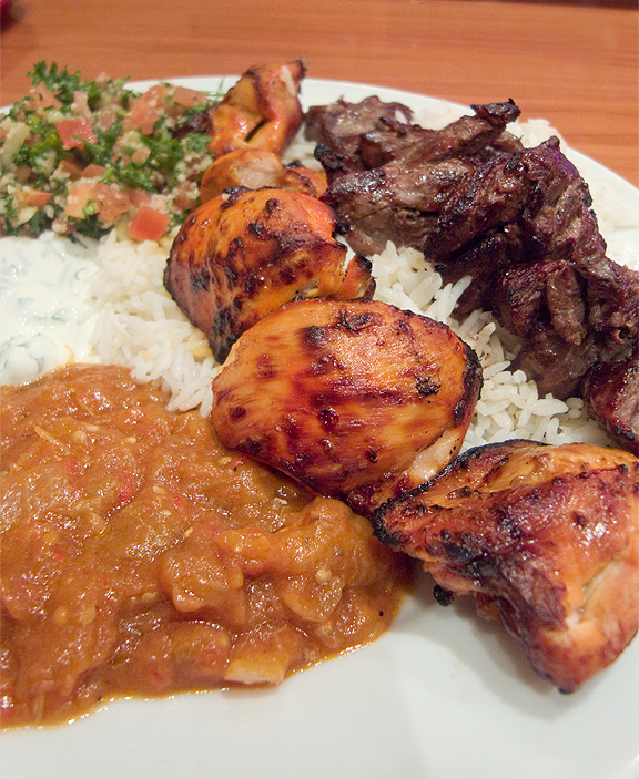 Under $10 – Cafe Bravo, Silver Lake – Tasty Armenian Meal
