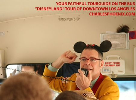 Charles Phoenix's Slide of the Week: Disneyland Tour of Downtown Los Angeles, 2006