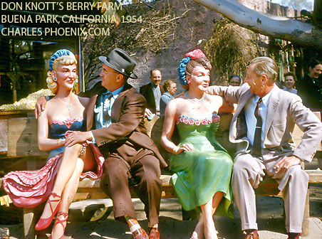 Charles Phoenix's Slide of the Week: Don Knott's Berry Farm, Buena Park, 1954