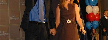 Jeri Thompson, Trophy Wife of Fred Thompson, Bows Out Of First Lady Race