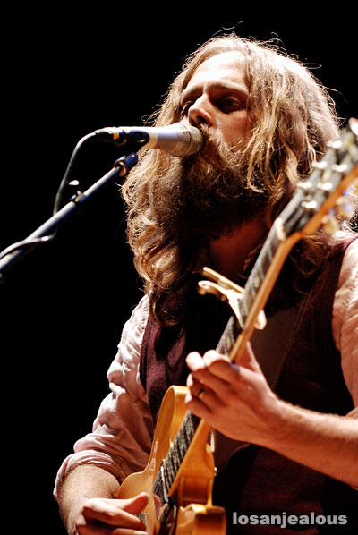 Iron & Wine at the Orpheum Theater on November 29, 2007