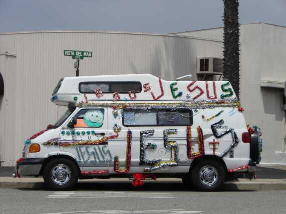 Ridin' Dirty in the Jesus Van