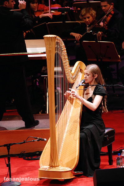 Joanna Newsom with the LA Phil, Walt Disney Concert Hall, November 9, 2007