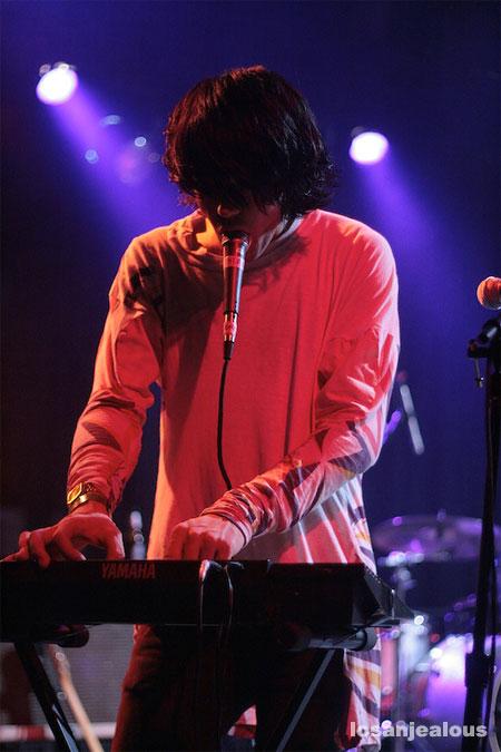 Klaxons @ El Rey, 7/10/07
