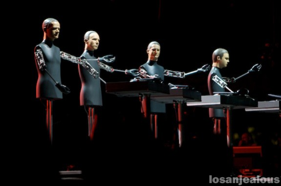 Coachella 2008: Kraftwerk & Portishead, Main Stage, Saturday