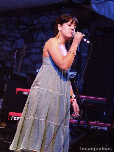 SXSW 2007: Lily Allen @ Stubbs
