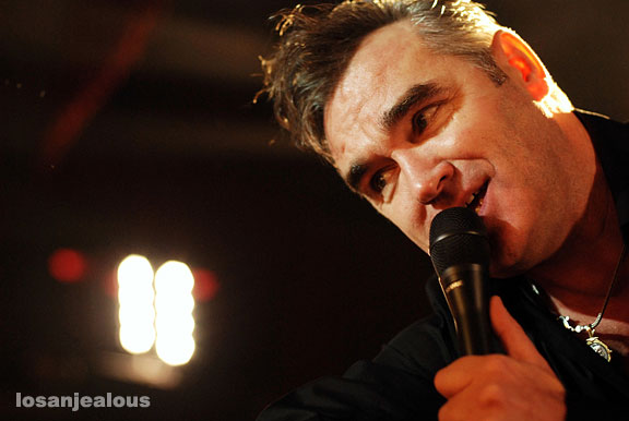 Morrissey @ Hollywood Palladium, October 13, 2007