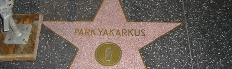 Hollywood Walk of Dubious Fame: Parkyakarkus