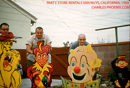 Charles Phoenix's Slide of the Week: Party Store Rentals, Van Nuys, 1960