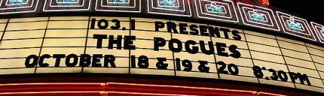 Pogues @ Wiltern, 10/20/06