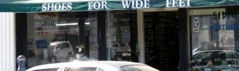 Sign Waves: Shoes For Wide Feet