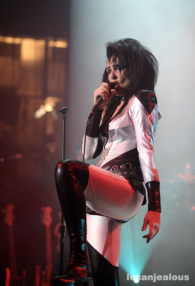 Siouxsie Sioux Live in Los Angeles, Henry Fonda Theater, Februrary 16, 2008