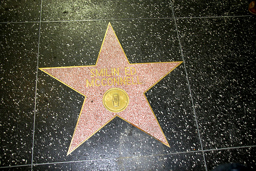 Hollywood Walk of Dubious Fame: Smilin' Ed McConnell