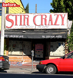 Photo Op: The Stir Crazy Stir Crazy Sneaky