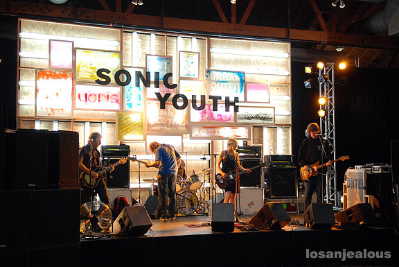 Sonic Youth @ Urban Outfitters for KXLU, 7/21/07