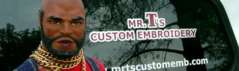 Mr. T Visitor Guide: Mr. T's Custom Embroidery