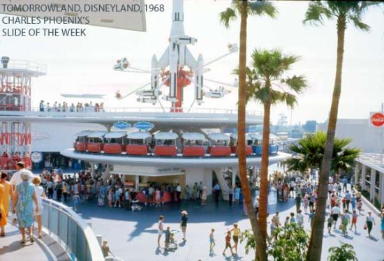 Charles Phoenix's Slide of the Week: The New Tomorrowland, Disneyland, 1969