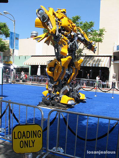 Transformers, Michael Bay Take Over Westwood Village, Diddy Riese Imperiled