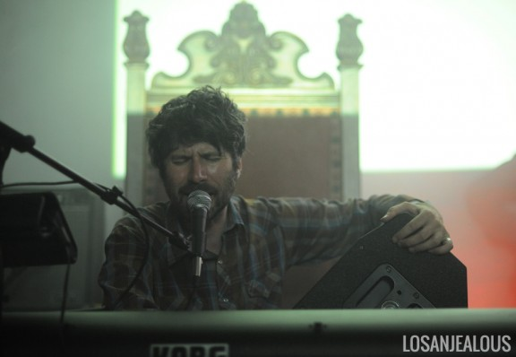 Photos: Neon Neon @ The Masonic Lodge at Hollywood Forever, June 27, 2013