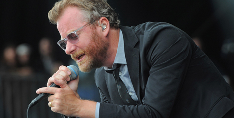 Photos: The National w/ Bob Weir @ Outside Lands 2013
