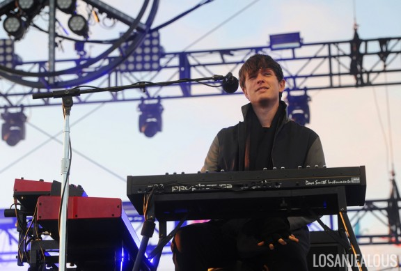 Photos: James Blake @ 2013 Treasure Island Music Festival