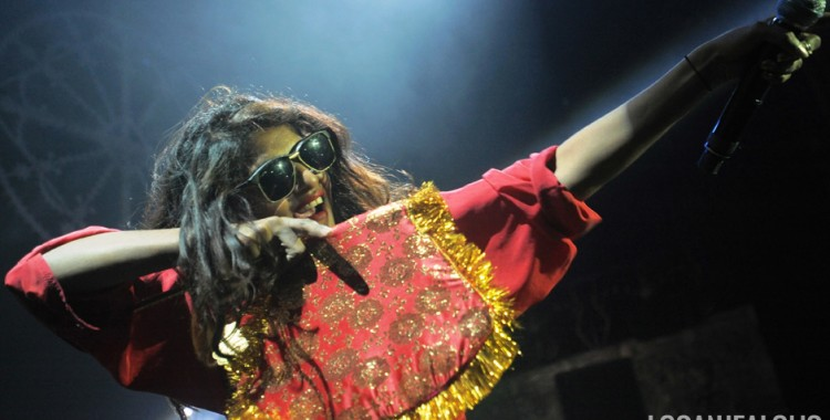 Photos: M.I.A. @ Belasco Theatre, November 11, 2013