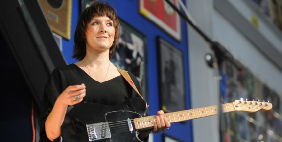 Photos: Cate Le Bon @ Amoeba Music, April 30, 2014