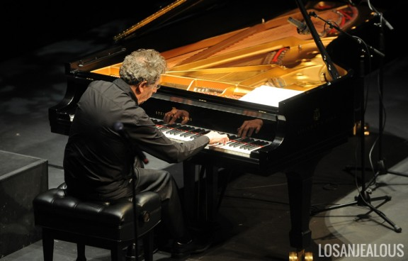 Photos: Philip Glass w/ Maki Namekawa & Sally Whitwell @ UCLA Royce Hall, May 4, 2014