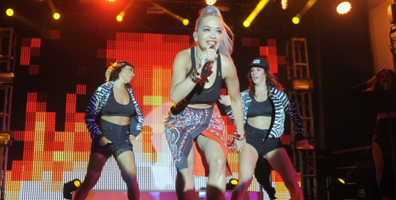 Photos: Pandora Summer Crush Featuring Rita Ora @ Santa Monica Pier, August 9, 2014