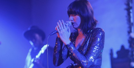 Photos: Karen O @ Hollywood Forever Masonic Lodge, September 18, 2014