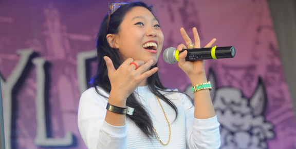 Photos: Awkwafina @ Festival Supreme 2014