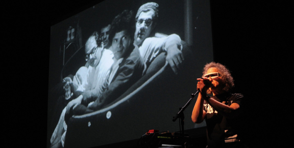 Photos: Exposed: Songs for Unseen Warhol Films @ UCLA Royce Hall, October 24, 2014
