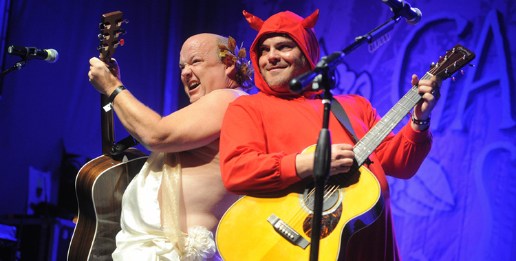 Photos: Tenacious D @ Festival Supreme 2014