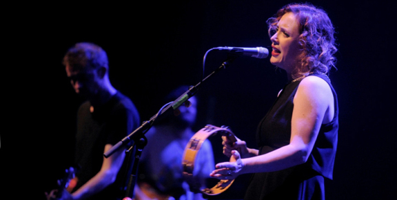 Photos: Slowdive @ The Theatre at the Ace Hotel, November 9, 2014