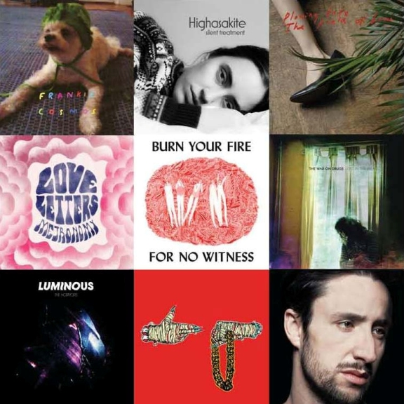 Favorite 2014 Albums & Songs