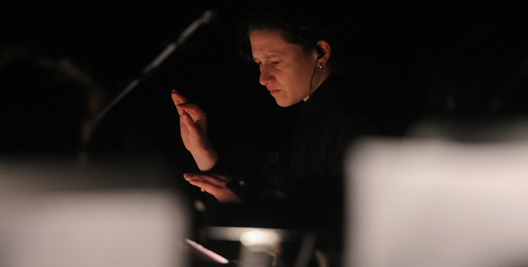 "Photos: Mica Levi with The Wild Up! + Wordless Musical Orchestra ""Under The Skin"" Live Score @ The Regent Theatre, January 6, 2015"